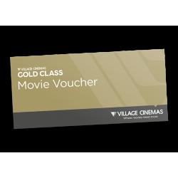 Village Cinema Gold Class Movie Voucher